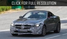 2016 Mercedes-Benz SLC 450 AMG Sport spotted during tests