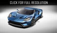 Ford will release super car 2017 Ford GT.
