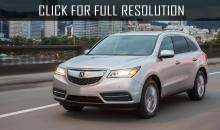 Acura company presented slightly modernized Acura MDX 2016