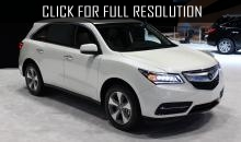 Acura presented an updated crossover MDX