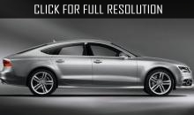 Hatchback Audi A7 updated