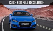 Updated Audi TT RS Coupe will appear later 2015