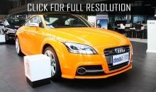 Started sales of new Audi TTS Coupe in Germany