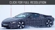 Photos of new BMW i8 Spyder during tests in Germany