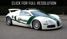 Bugatti Veyron police in Dubai