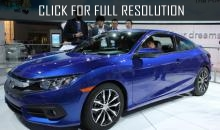 Price and complete set of tenth generation of Honda Civic Coupe