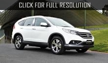 Honda CR-V became the best-selling crossover in the world of 2013