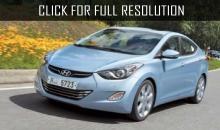 Hyundai Elantra 2015 is testing in China