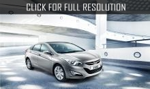 Stylish sedan Hyundai i40 2014