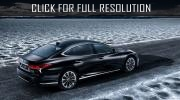 Some information about hybrid Lexus LS 500h was revealed