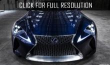 Lexus will present a hydrogen sedan LS FCV in 2017