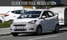 Ford prepares new european citycar Ford KA 2016