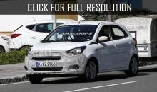 Ford prepares new european citycar Ford KA 2016