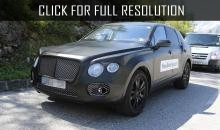 Published photos of test prototype crossover Bentley