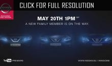 Nissan introduced a teaser of a hatchback Pulsar of new generation