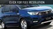 SsangYong presented the updated Stavic minivan
