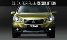 New Suzuki SX4 will be released in summer of 2015