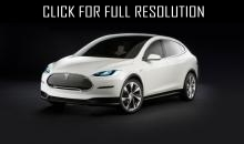 New crossover from Tesla - Model X 2015