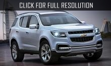 Chevrolet presented updated 2017 Chevrolet Trailblazer
