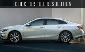 2015-2016 Chevrolet Malibu - specifications, changes