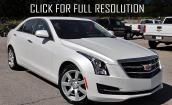 2015 Cadillac Ats white #3