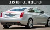 2015 Cadillac Ats white #4