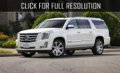2015 Cadillac Escalade - packages, interior, new design