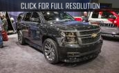 2015 Chevrolet Tahoe Ltz Black edition #4
