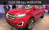 2015 Ford Edge - technical characteristics, interior, price, video