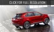 2015 Ford Edge hybrid #1