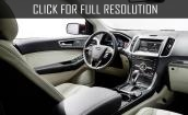 2015 Ford Edge interior #1