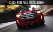 2015 Ford Edge sport #2