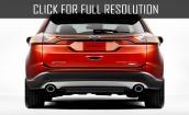 2015 Ford Edge sport #4