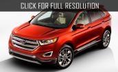 2015 Ford Edge titanium #4