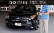 2015 Ford Explorer black #1