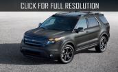 2015 Ford Explorer black #2
