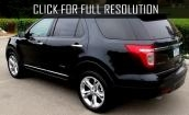 2015 Ford Explorer black #3