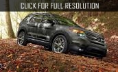 2015 Ford Explorer black #4