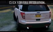 2015 Ford Explorer sport #4