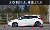 2015 Ford Focus St white #1
