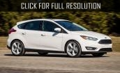 2015 Ford Focus St white #2