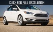 2015 Ford Focus St white #3
