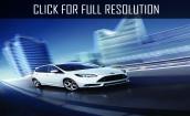2015 Ford Focus St white #4