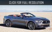 2015 Ford Mustang convertible #2