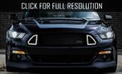 2015 Ford Mustang Ecoboost black #2