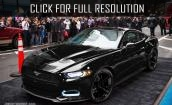 2015 Ford Mustang Ecoboost black #4