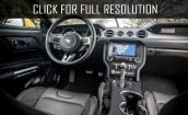 2015 Ford Mustang Ecoboost interior #1
