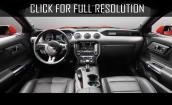 2015 Ford Mustang Ecoboost interior #3