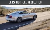 2015 Ford Mustang white #1
