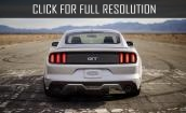 2015 Ford Mustang white #2